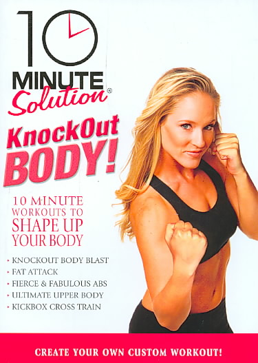 10 MINUTE SOLUTION:KNOCKOUT BODY WORK BY 10 MINUTE SOLUTION (DVD)